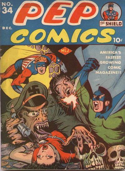 Pep Comics Vol 1 34