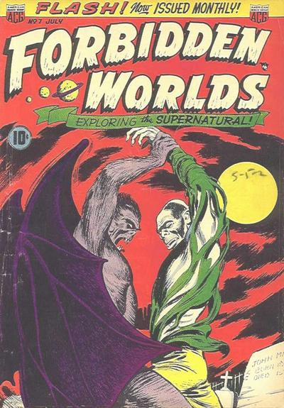Forbidden Worlds Vol 1 7