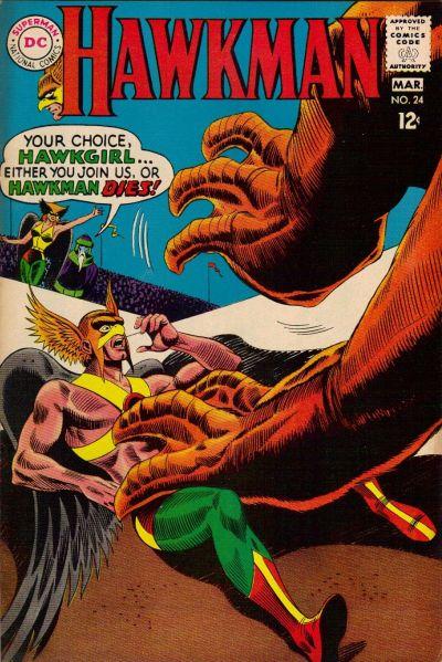 Hawkman Vol 1 24