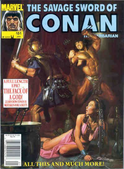 Savage Sword of Conan Vol 1 181