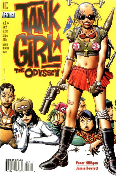 Tank Girl: The Odyssey Vol 1 3