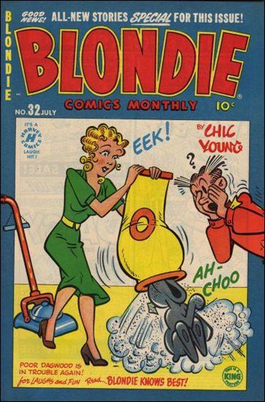 Blondie Comics Vol 1 32