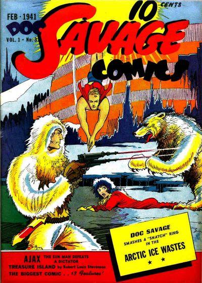 Doc Savage Comics Vol 1 3