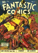 Fantastic Comics Vol 1 3