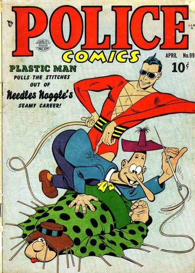 Police Comics Vol 1 99