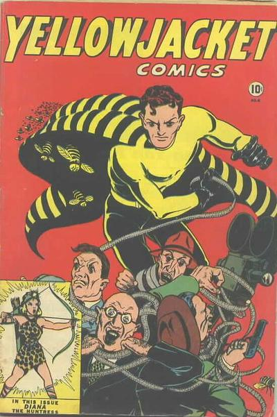 Yellowjacket Comics Vol 1 6