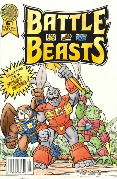 Battle Beasts Vol 1 1