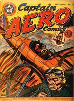 Captain Aero Comics Vol 1 11