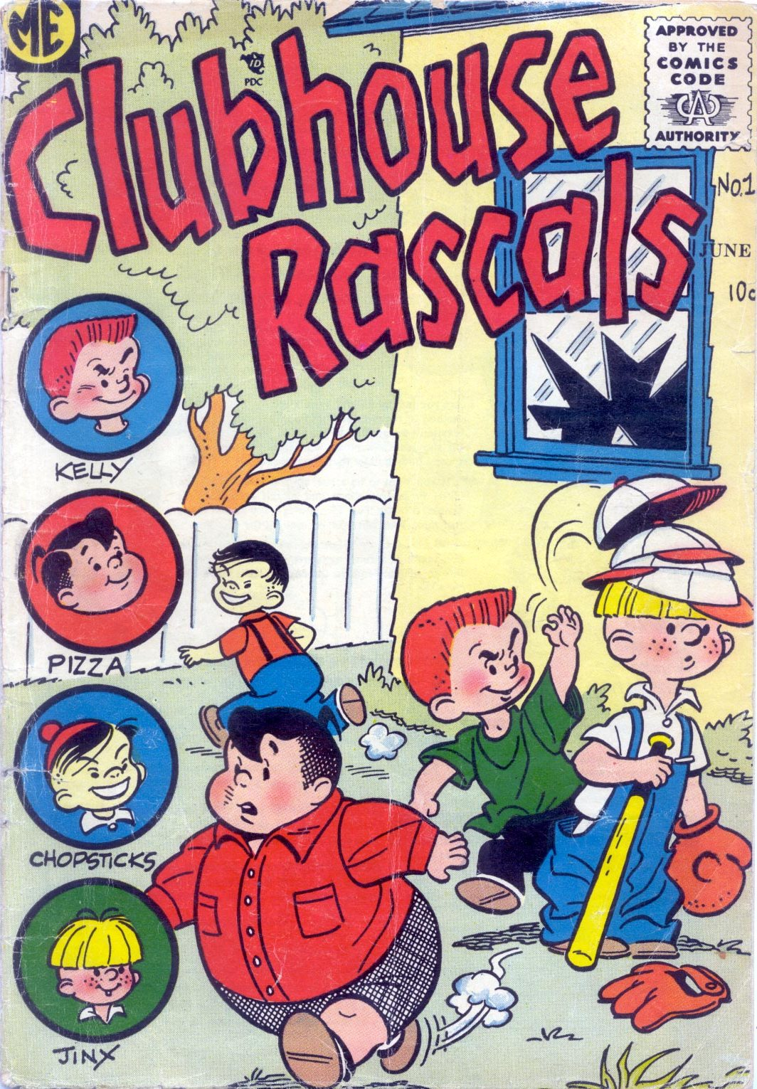Clubhouse Rascals Vol 1
