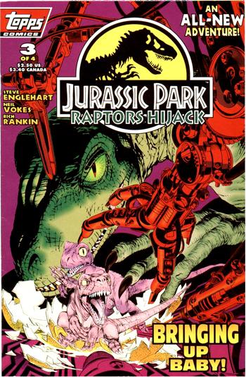 Jurassic Park: Raptors Hijack Vol 1 3