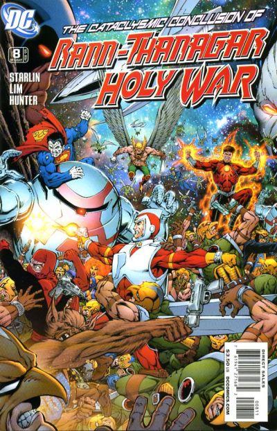 Rann-Thanagar: Holy War Vol 1 8