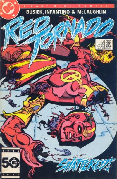 Red Tornado Vol 1 2