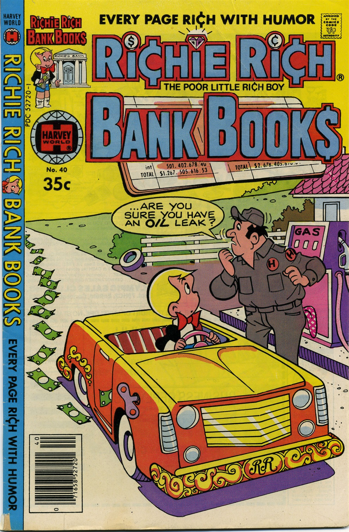 Richie Rich Bank Books Vol 1 40