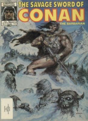 Savage Sword of Conan Vol 1 110
