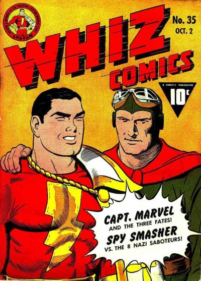 Whiz Comics Vol 1 35