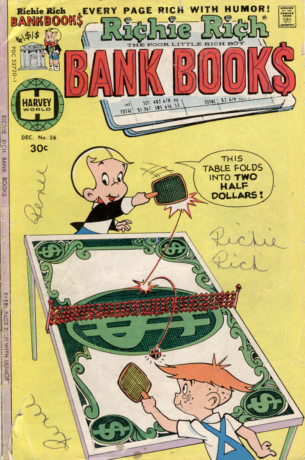 Richie Rich Bank Books Vol 1 26