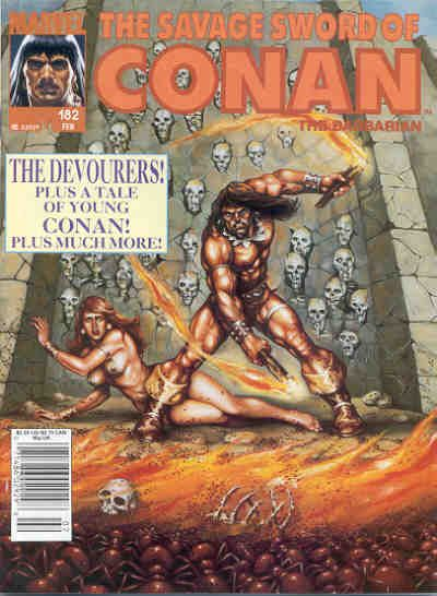 Savage Sword of Conan Vol 1 182