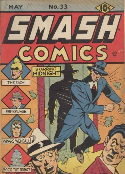 Smash Comics Vol 1 33