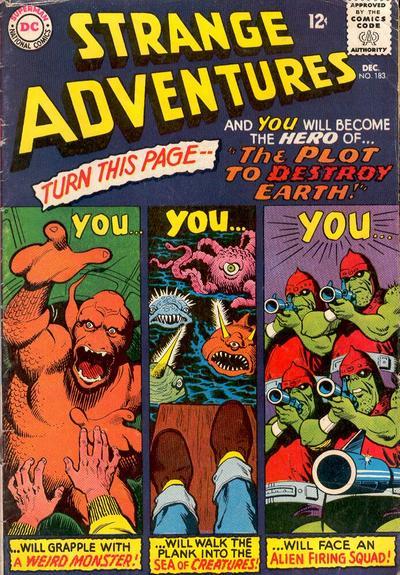 Strange Adventures Vol 1 183