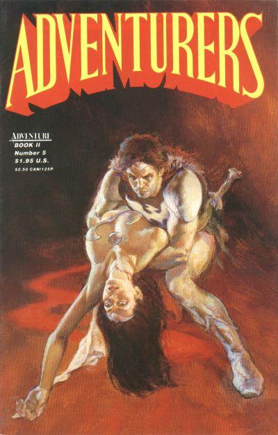 Adventurers Book II Vol 1 5