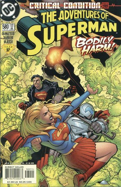 Adventures of Superman Vol 1 580