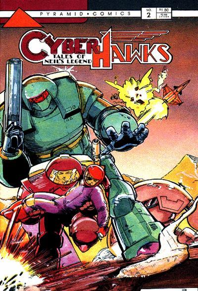 Cyberhawks Vol 1 2