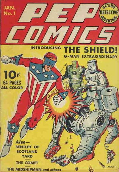 Pep Comics Vol 1 1