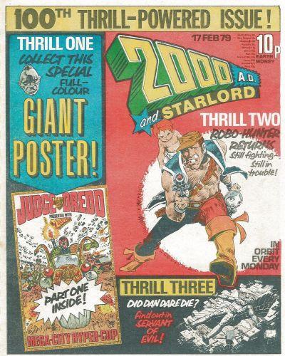 2000 AD Vol 1 100