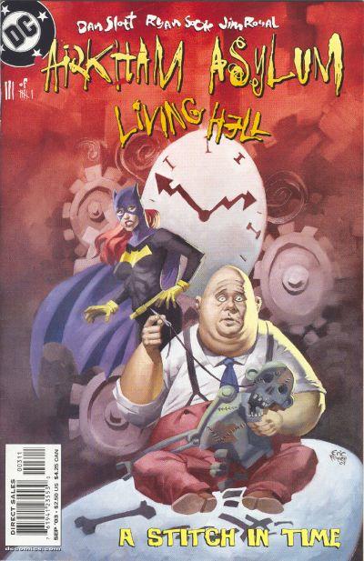 Arkham Asylum: Living Hell Vol 1 3