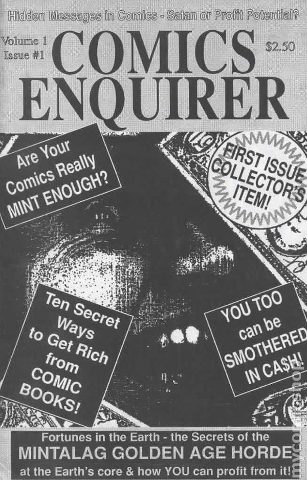 Comics Enquirer Vol 1 1