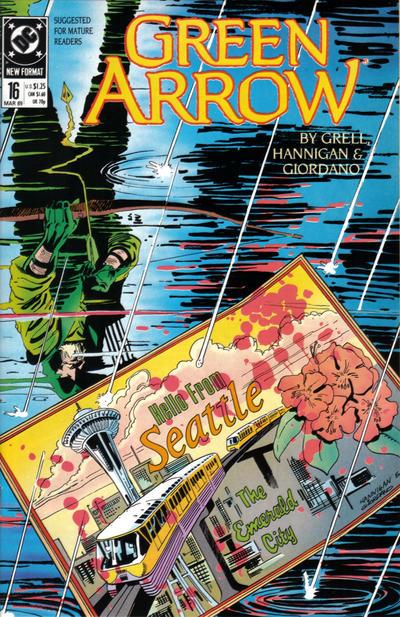Green Arrow Vol 2 16