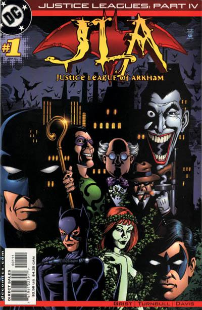 Justice Leagues: Justice League of Arkham Vol 1 1