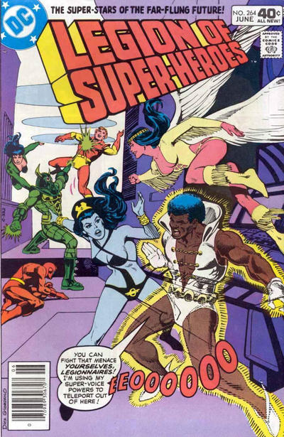 Legion of Super-Heroes Vol 2 264