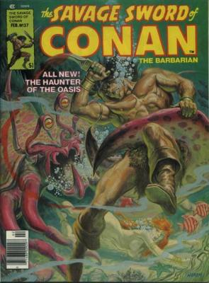 Savage Sword of Conan Vol 1 37