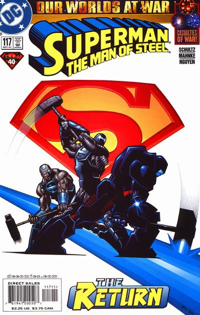 Superman: Man of Steel Vol 1 117