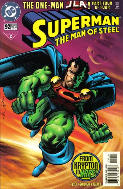 Superman: Man of Steel Vol 1 92