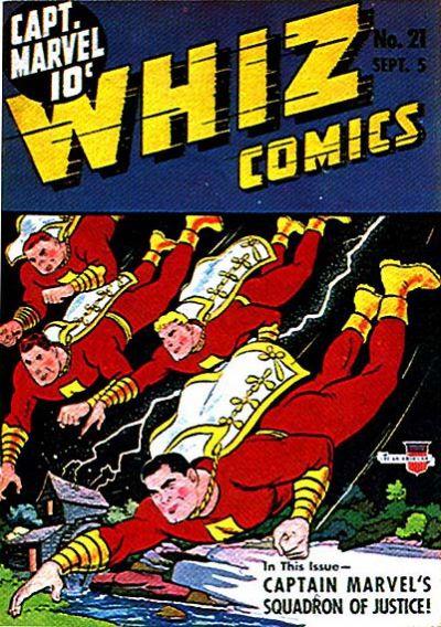 Whiz Comics Vol 1 21