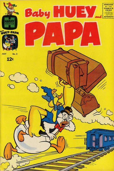 Baby Huey and Papa Vol 1 2