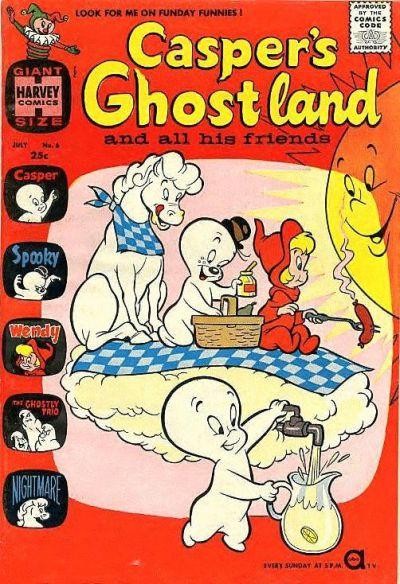 Casper's Ghostland Vol 1 6