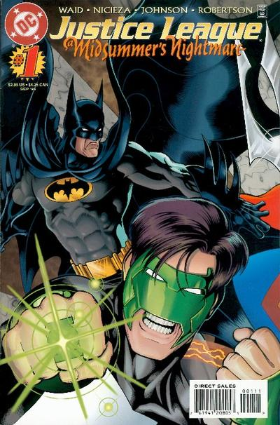 Justice League: A Midsummer's Nightmare Vol 1 1