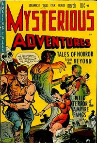Mysterious Adventures Vol 1 1