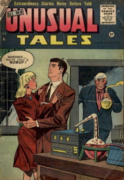 Unusual Tales Vol 1 2