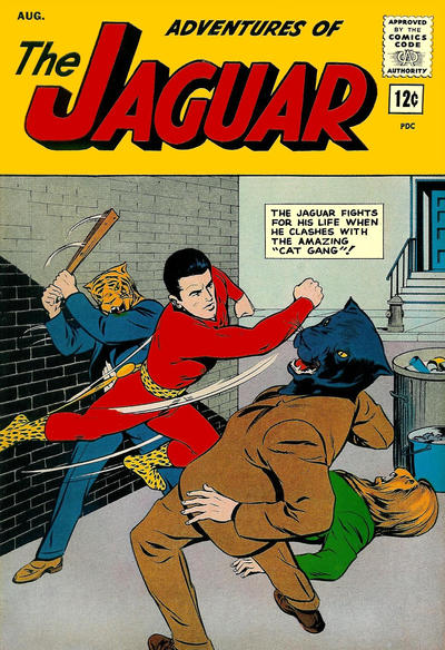 Adventures of the Jaguar Vol 1 13