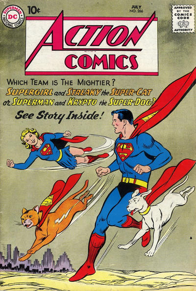 Action Comics Vol 1 266