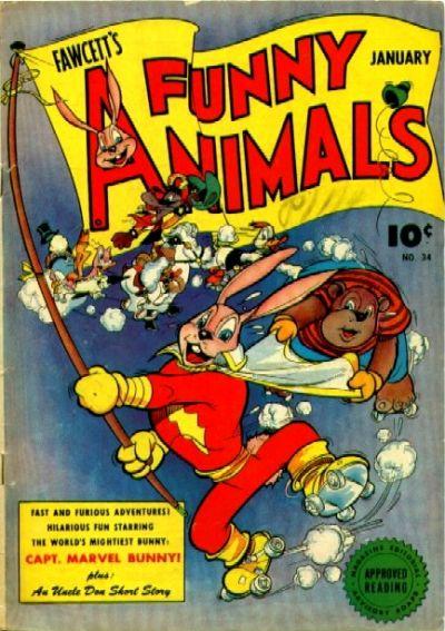 Fawcett's Funny Animals Vol 1 34
