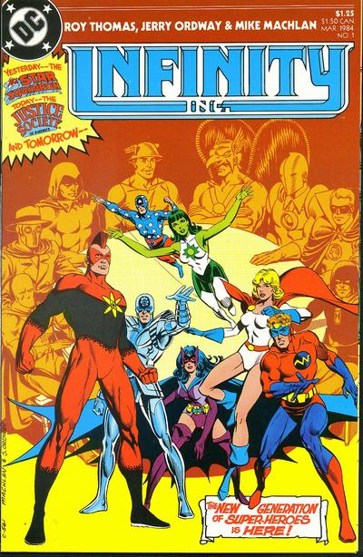 Infinity Inc. Vol 1 1
