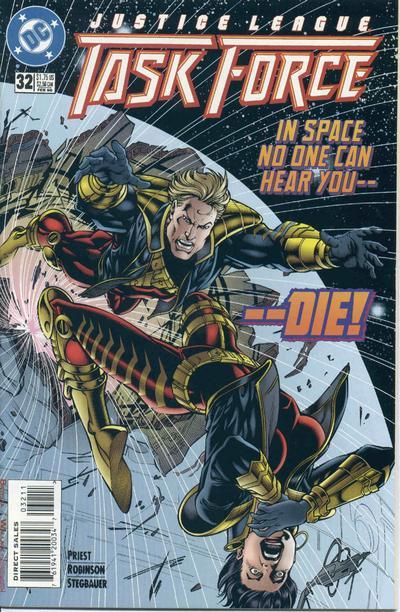 Justice League Task Force Vol 1 32