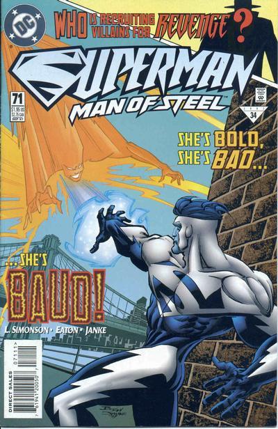 Superman: Man of Steel Vol 1 71