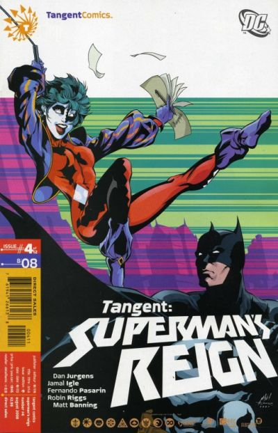 Tangent: Superman's Reign/Covers