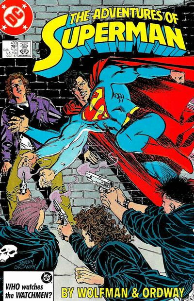 Adventures of Superman Vol 1 433